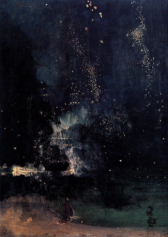 Nocturne in Black and Gold The Falling Rocket, James Whistler