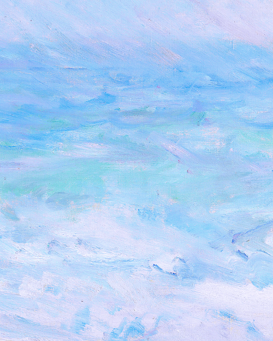 Claude Monet Regnvær